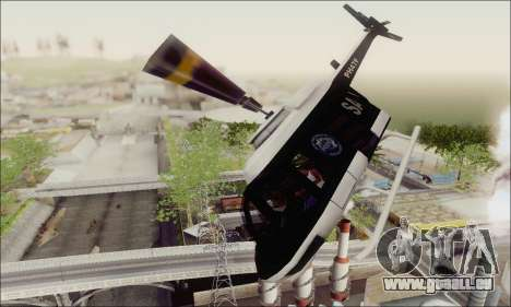 Police Maverick für GTA San Andreas Innenansicht