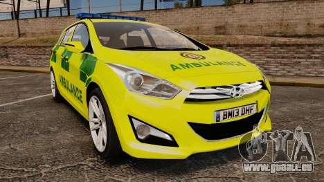 Hyundai i40 Tourer [ELS] London Ambulance für GTA 4