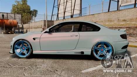 BMW M3 GTS Widebody für GTA 4 linke Ansicht