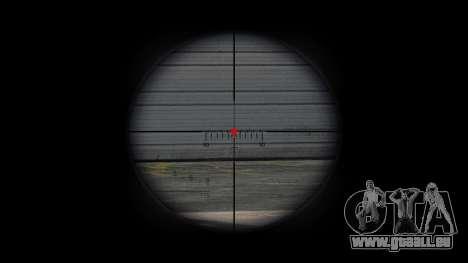 Fusil de sniper CheyTac Intervention pour GTA 4 quatrième écran