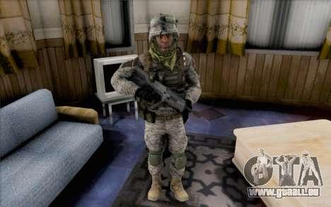 Quinton Cole pour GTA San Andreas deuxième écran
