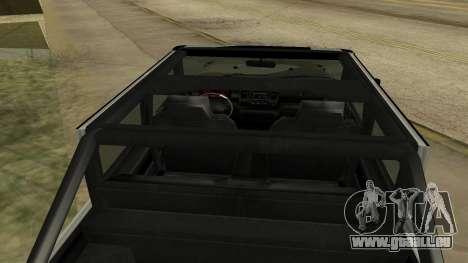 Crusader GTA 5 pour GTA San Andreas vue arrière