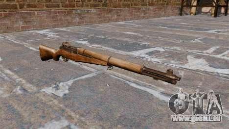 Ladewagen Gewehr M1 Garand v1. 1 für GTA 4