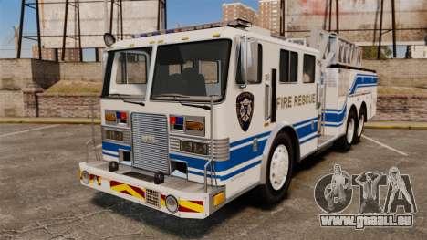 MTL Firetruck MDH1000 Midmount Ladder [ELS] für GTA 4