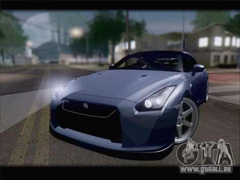 Nissan GT-R Spec V Stance pour GTA San Andreas vue de droite