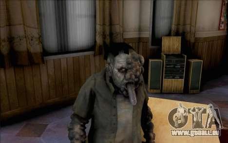 Left 4 Dead Raucher für GTA San Andreas dritten Screenshot