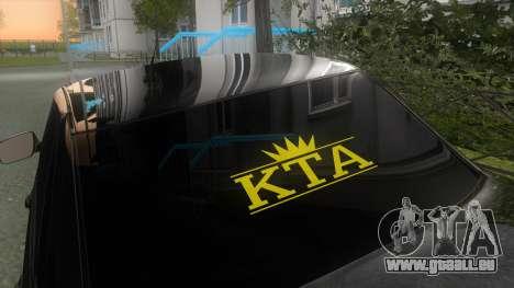 LADA Priora 2170 pour GTA San Andreas vue de droite