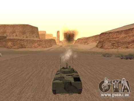 BMP-3 pour GTA San Andreas vue de droite