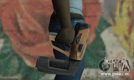 Manhunt Nailgun pour GTA San Andreas troisième écran