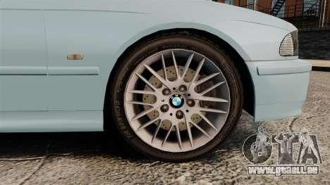 BMW 525i (E39) für GTA 4 Rückansicht
