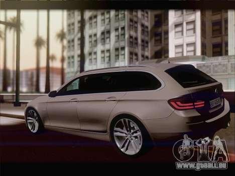 BMW M5 F11 Touring für GTA San Andreas Rückansicht