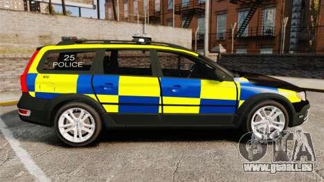 Volvo XC70 Police [ELS] für GTA 4 linke Ansicht