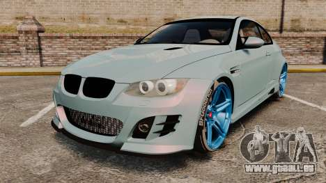 BMW M3 GTS Widebody pour GTA 4