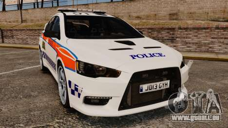 Mitsubishi Lancer Evo X Humberside Police [ELS] für GTA 4