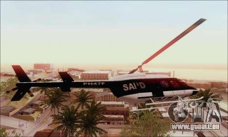 Police Maverick für GTA San Andreas linke Ansicht