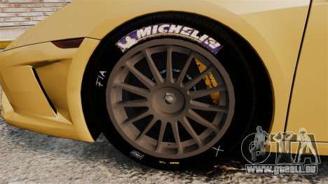 Lamborghini Gallardo 2013 v2.0 pour GTA 4 Vue arrière