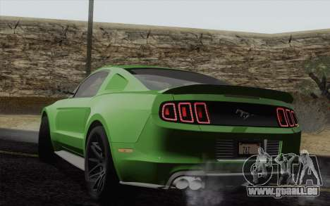 Ford Mustang GT 2013 für GTA San Andreas linke Ansicht