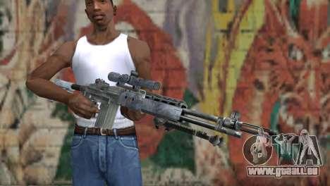 M14 EBR Blue Tiger für GTA San Andreas dritten Screenshot