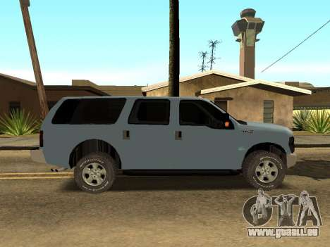 Ford Excursion pour GTA San Andreas sur la vue arrière gauche