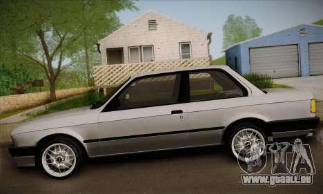 BMW M3 E30 für GTA San Andreas Seitenansicht
