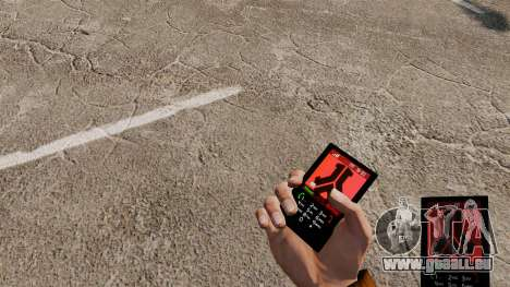 Das Thema für das Telefon Defqon für GTA 4