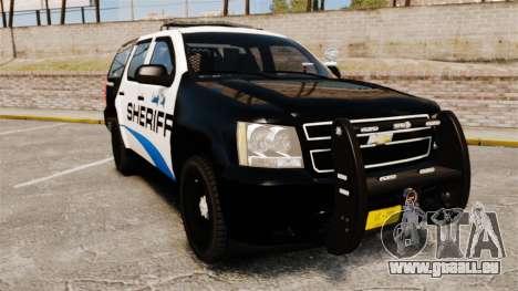 Chevrolet Tahoe 2008 Federal Signal Valor [ELS] pour GTA 4