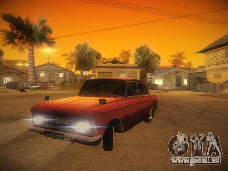 IZH 412 v. 1 für GTA San Andreas Rückansicht