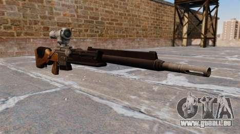 Le fusil de précision FR F2 pour GTA 4