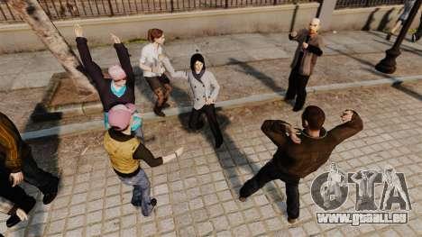 Le Script-danse - pour GTA 4 quatrième écran