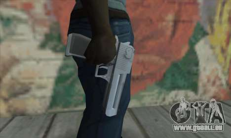 Desert Eagle von Saints Row 2 für GTA San Andreas dritten Screenshot