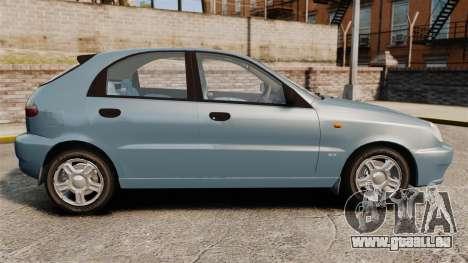Daewoo Lanos 1997 PL pour GTA 4 est une gauche