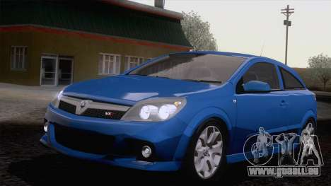 Vauxhall Astra VXR  2007 für GTA San Andreas Rückansicht
