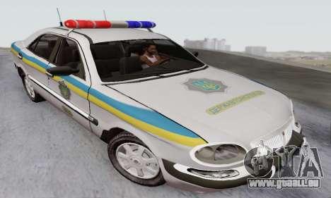GAZ-3111 Miliciâ Ukraine pour GTA San Andreas