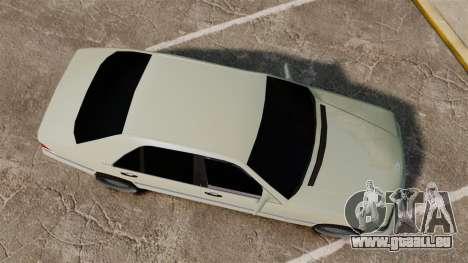 Mercedes-Benz S600 (W140) 1998 pour GTA 4 est un droit