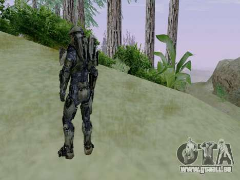 Master Chief für GTA San Andreas fünften Screenshot