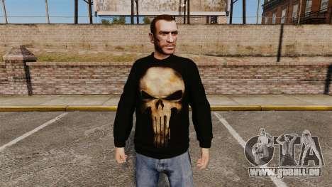 Pullover-The Punisher- für GTA 4