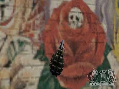 Grenade de S.T.A.L.K.E.R. pour GTA San Andreas