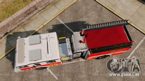 Firetruck LCFR [ELS] pour GTA 4 est un droit