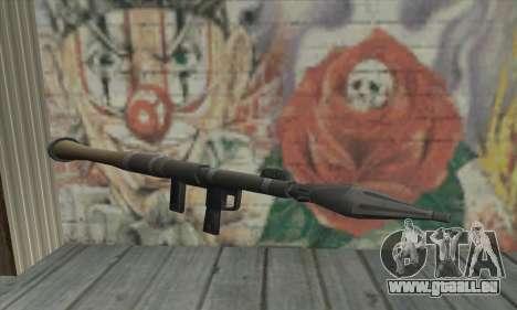 Lanceur de missiles de la Saints Row 2 pour GTA San Andreas