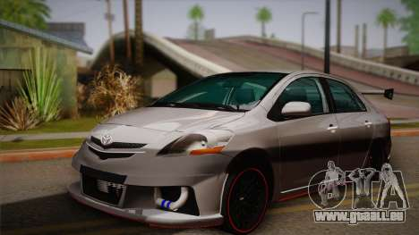 Toyota Vios Slalom Edition pour GTA San Andreas