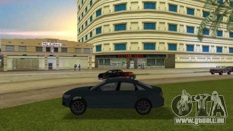 Audi A6 2012 pour une vue GTA Vice City de la gauche
