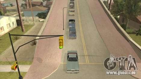 Smooth Camera pour GTA San Andreas deuxième écran