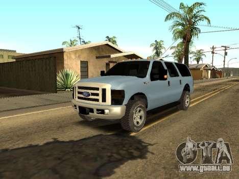 Ford Excursion pour GTA San Andreas