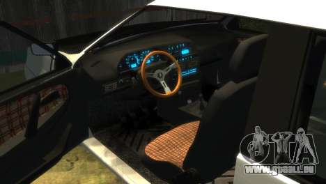 VAZ 2113 pour GTA 4 vue de dessus