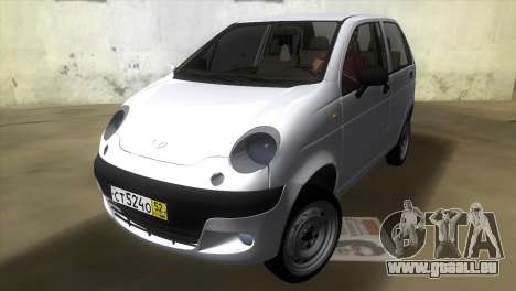 Daewoo Matiz pour GTA Vice City