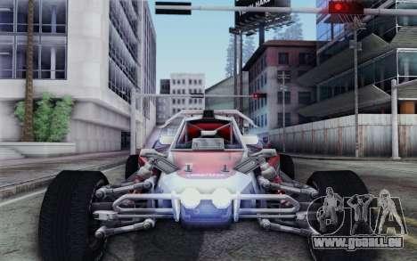 Buggy XCelerator XL für GTA San Andreas Rückansicht