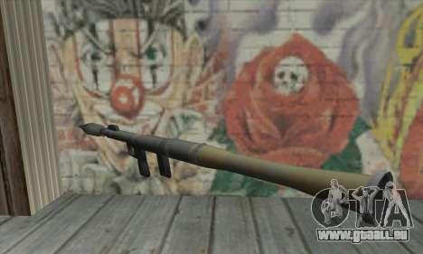 Raketenwerfer von den Saints Row 2 für GTA San Andreas zweiten Screenshot
