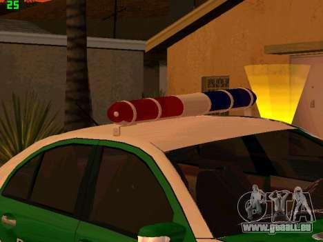 Mercedes-Benz  E500 Polizei für GTA San Andreas Rückansicht