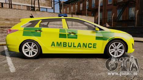 Hyundai i40 Tourer [ELS] London Ambulance für GTA 4 linke Ansicht