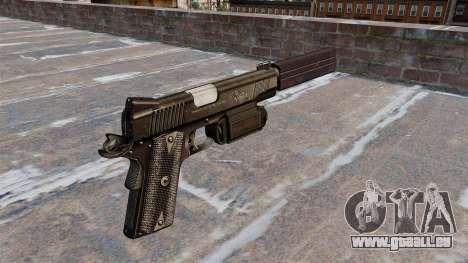 Pistolet Colt 45 Kimber pour GTA 4 secondes d'écran
